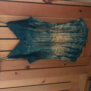 &other stories tie dye cami
